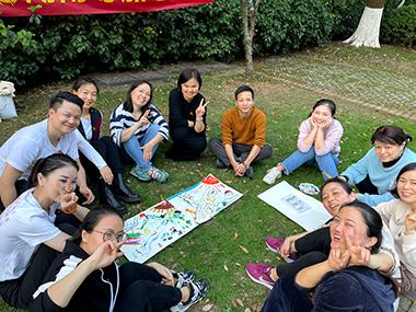 湖南嗯加心理咨询团队活动